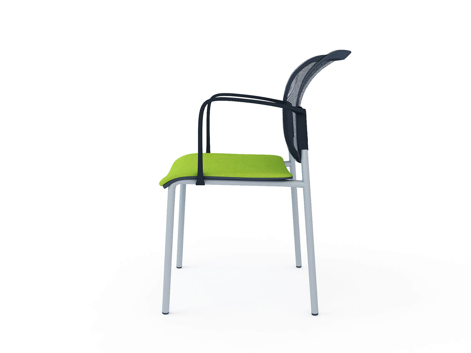 3D model of Choose office chair, 3D visualisation, London, UK.