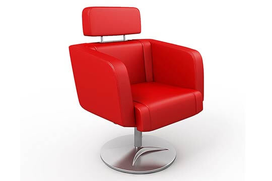 3D model of Tango office chair, 3D visualisation, London, UK.
