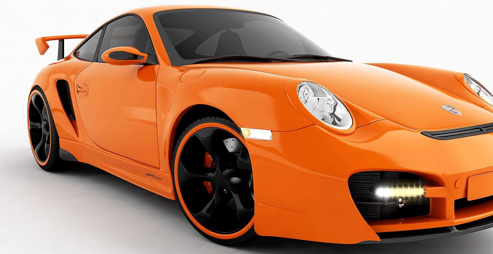 3D modeling Porsche GT Street