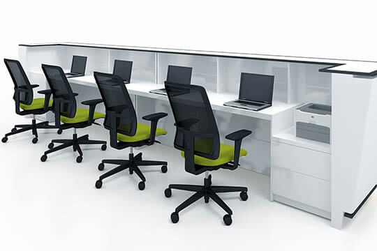 3D visualisation of the office, 3d modeling and 3d design, London, UK.