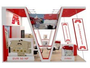 Exhibition stand design, 3d exhibition design, London, UK.