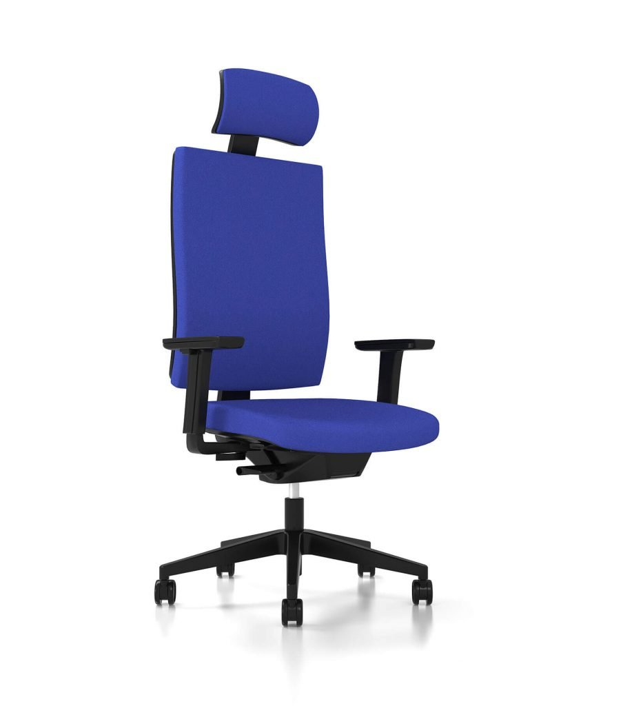 3D model of Headway office chair, 3D visualisation, London, UK.