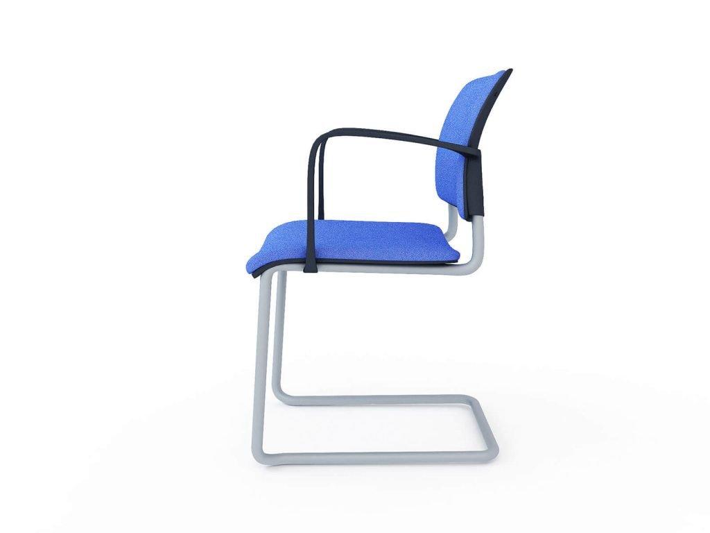 3D model of Choose office chair, 3D visualisation, London, UK.