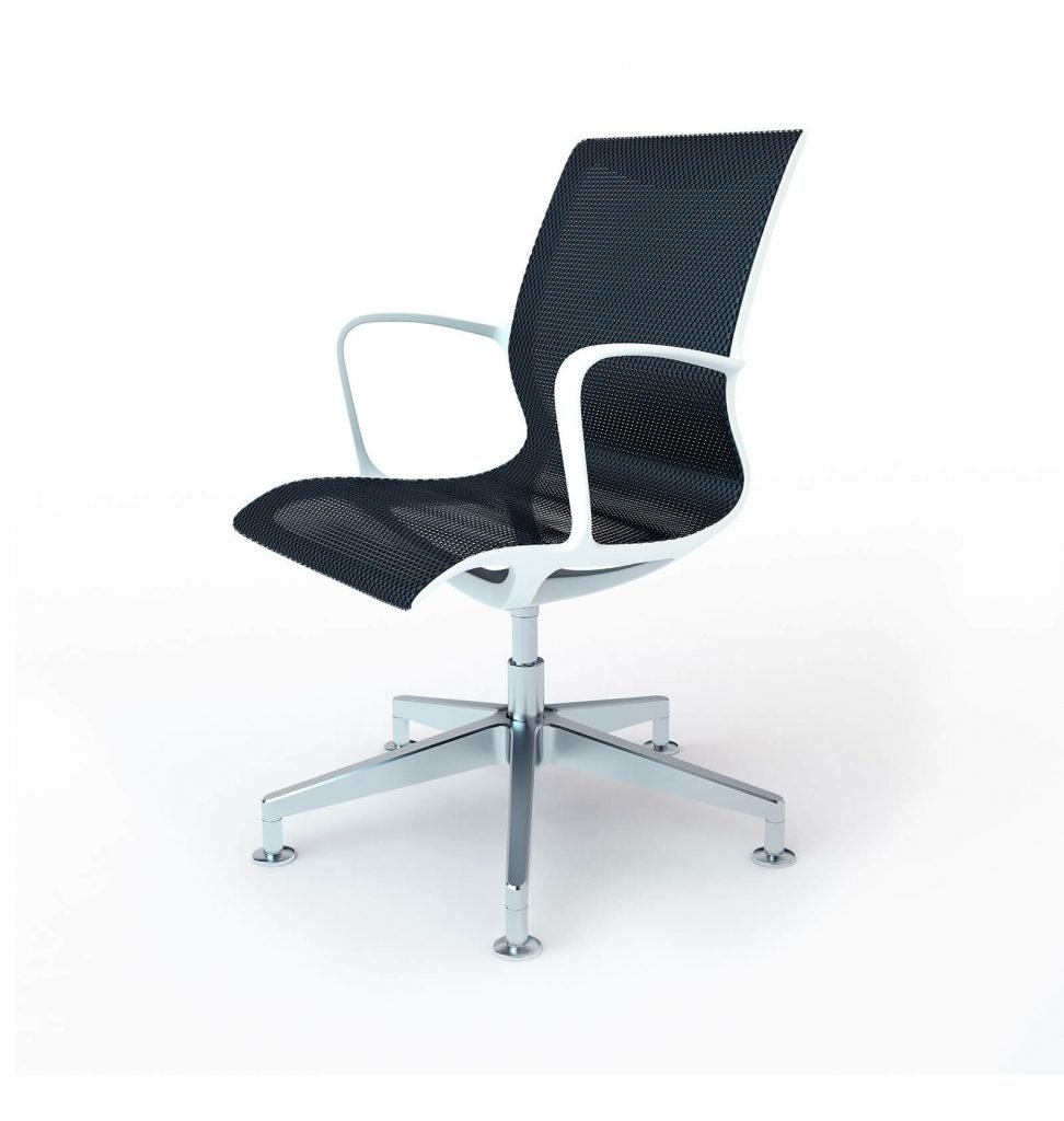 3D Modeling workcup office chair