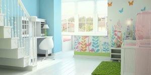 3D Visualisation children's room, 3D design, Interior design, London, UK.
